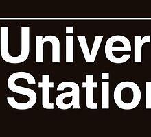 NYC Columbia University - 116 Street Station - 1 by axemangraphics