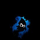 Ninja Squid iPhone case by Krystle