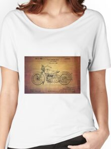 Harley Davidson Patent From 1928 Women's Relaxed Fit T-Shirt