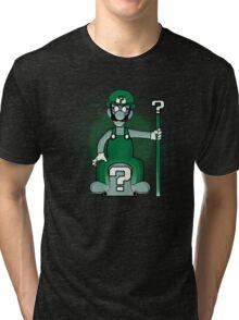 Riddle me This! Tri-blend T-Shirt