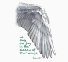 Sing For Joy Under Your Wings by MyArtefacts