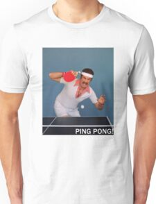 Ron Burgundy Pongs Unisex T-Shirt