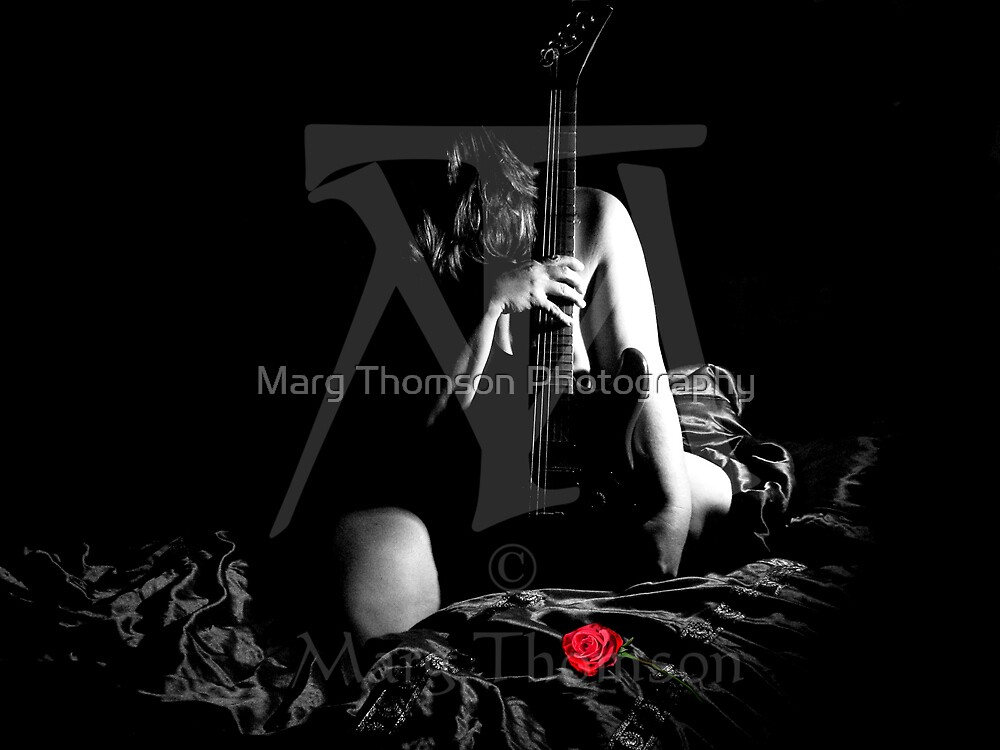 The Rose by Marg Thomson Photography