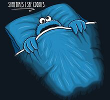 Sometimes I See Cookies by 2mzdesign