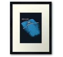 Sometimes I See Cookies Framed Print