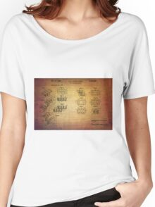 Lego Blocks Patent from 1961 Women's Relaxed Fit T-Shirt