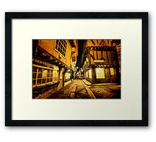 Little Shambles, York Framed Print
