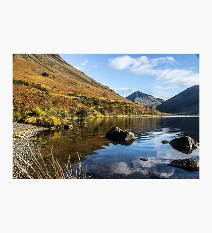 Scafell Pike from Wastwater Photographic Print