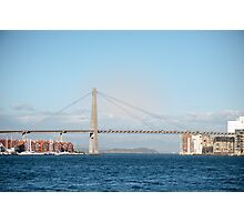 Stavanger city bridge Photographic Print