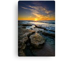Fractured Coast Canvas Print