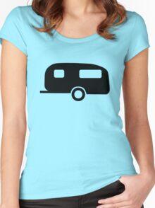 Camping Caravan Women's Fitted Scoop T-Shirt