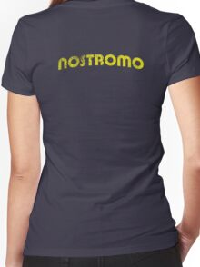 Nostromo Weathered Women's Fitted V-Neck T-Shirt