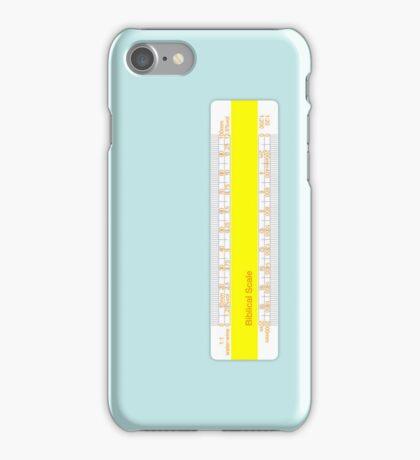 Biblical Scale iPhone Case/Skin