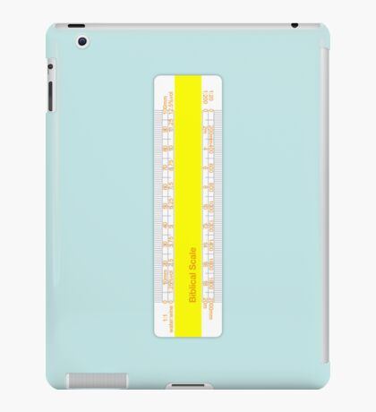 Biblical Scale iPad Case/Skin