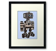 Camera Bot 6000 Framed Print