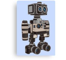 Camera Bot 6000 Canvas Print