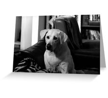 The Puppy Inside Greeting Card
