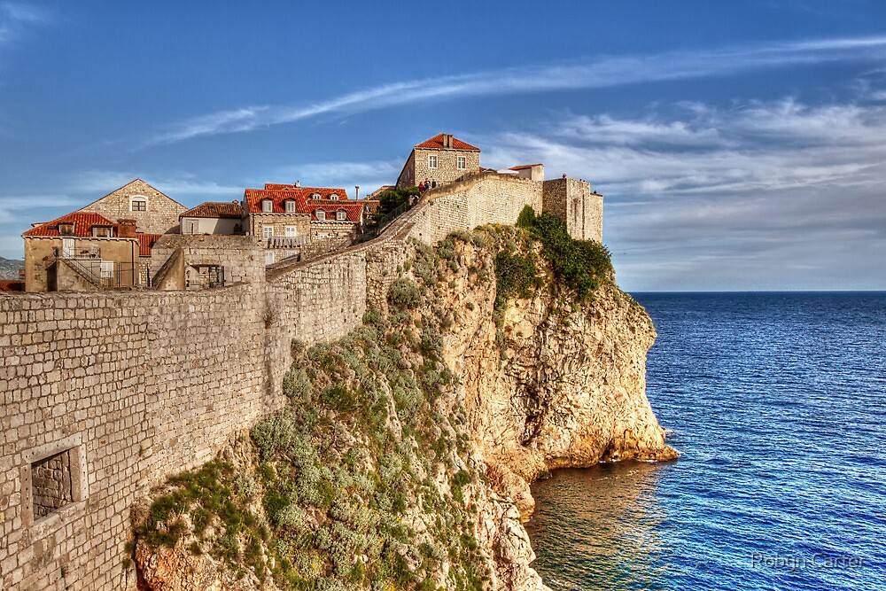 Old Town Wall, Dubrovnik by Robyn Carter