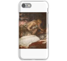 Charles Ernest Butler - Siegfried and Brunnhilde 1909 iPhone Case/Skin
