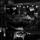 West End Markets B&W by Jordan Miscamble