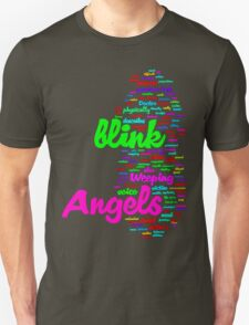 Words of the Weeping Angels T-Shirt