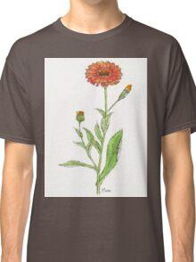 Calendula (C. officinalis) Botanical Classic T-Shirt