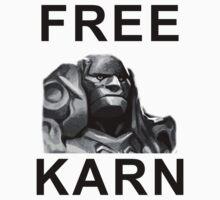 FREE KARN Shirt by Tgarncarz