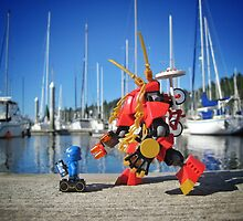 Summer mech (1 of 3) by bricksailboat