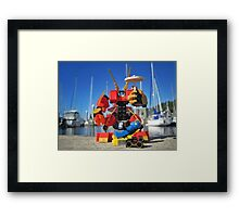Summer mech (3 of 3) Framed Print