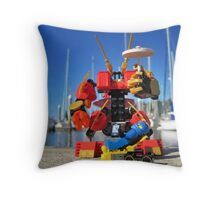 Summer mech (3 of 3) Throw Pillow