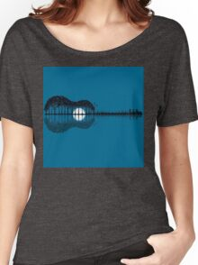 Trees sea and the moon turned guitar Women's Relaxed Fit T-Shirt
