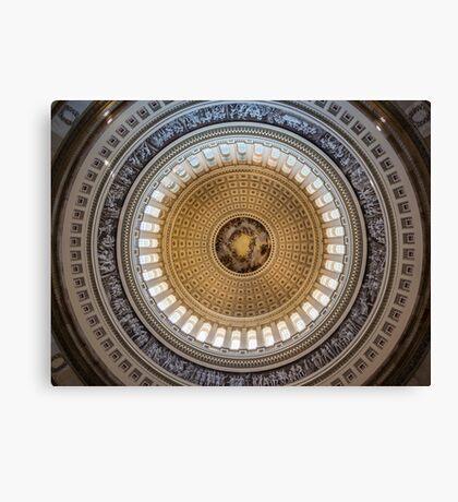 Capital Dome Canvas Print