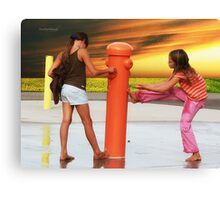 Water Park Canvas Print