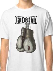 Fight - Vintage Boxing Gloves  v2 Classic T-Shirt
