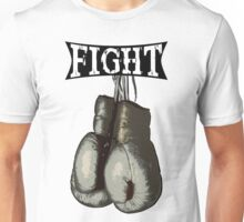 Fight - Vintage Boxing Gloves  v2 Unisex T-Shirt