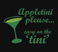 Appletini... Easy on the tini! by monkeybrain