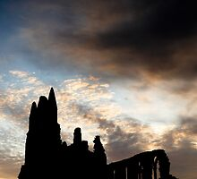 Whitby Abbey by Dave Hudspeth
