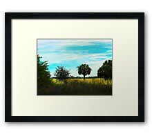 Southern Serenity Framed Print