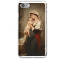 Charles François Jalabert - The Awakening 1863.  iPhone Case/Skin