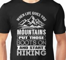 Hiking Boots Unisex T-Shirt