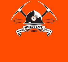Mine, Craft, Survive Unisex T-Shirt