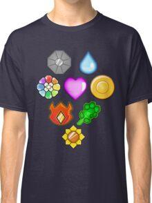 Pokémon! Gym Badges! Classic T-Shirt