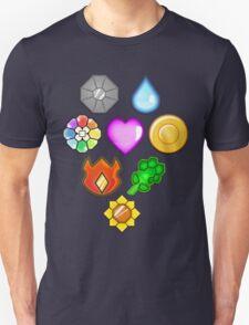 Pokémon! Gym Badges! T-Shirt