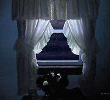 Moonlit Window by RC deWinter