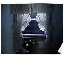 Moonlit Window Poster