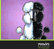 Poodles Off-Leash Art™ Vol 1 by offleashart