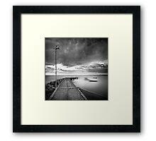 Line... Framed Print
