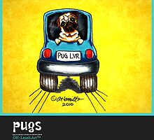 Pugs Off-Leash Art™ Vol 1 by offleashart