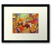 Femalestrom (Pietersite) Framed Print