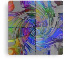 Colorful Quadrants  Metal Print